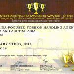 J-PAC Logistics bags international award