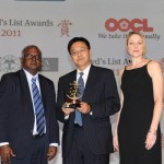 OOCL wins 'Ship Operator of the Year' at Lloyd's List Awards, Asia 2011