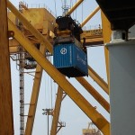 Sri Lanka port handles first large-capacity box ship