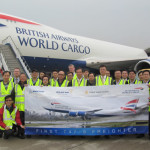 Hactl celebrates B747-8F with customer IAG Cargo