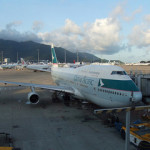 Cathay Pacific tumbles in first half
