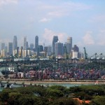 Singapore opens new wharf for lighter industry