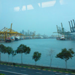 Singapore port tallies higher box volume for August