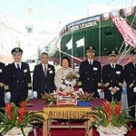 Evergreen's eighth new 8,452-TEU ship christened