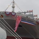 New 13,208-TEU box ship named OOCL Chongqing
