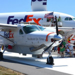 FedEx posted 7% rise in first quarter earnings