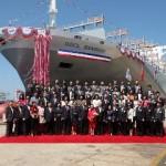 OOCL names new 13,000-TEU box ship, announces G6 void trips
