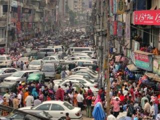 Bangladesh street scene
