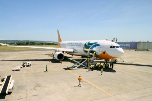 Handling the most cargoes was low-cost carrier Cebu Pacific Air, cornering 47.68% of the total with 109.653 million kg.