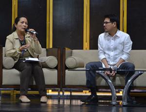 Rosana San Vicente, chief of the Bureau of Internal Revenue Accounts Receivable Monitoring Division