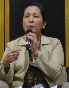 Rosana San Vicente, chief of the Bureau of Internal Revenue Accounts Receivable Monitoring Division, at the recently concluded Cargo Transport Summit 2