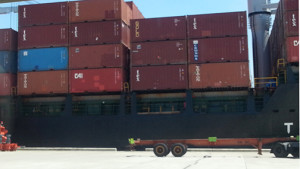 MICT operator International Container Terminal Services, Inc. (ICTSI) has started to transfer about 3,000 overstaying containers from Manila to Subic to provide additional space for laden cargoes.