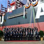 UASC christens LNG-ready 15,000-TEU box ship for Asia-Europe trade