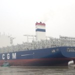 CMA deploys 10,622-TEU newbuild Volga, in talks to build 3 ULCVs