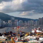 HK port's box traffic lightens in first quarter