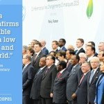 Paris pact on climate change adopted