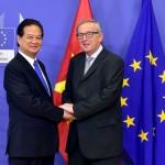 Vietnam, EU ink free trade agreement