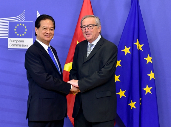 Vietnam Eu Ink Free Trade Agreement Portcalls Asia Asian