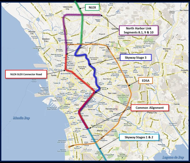 Neda Oks Five Projects Including Nlex Slex Connector Road