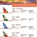 Cebu to host more international flights come March