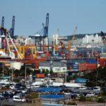 Cargo volume up at South Korean ports