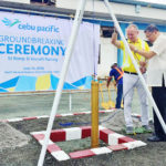 Cebu Pacific kicks off NAIA parking bay construction