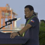 PH president inaugurates expanded Davao container terminal