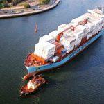Moller-Maersk books profit despite loss in shipping