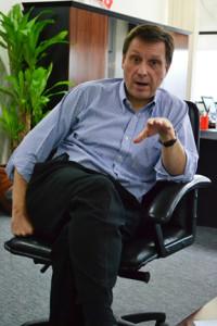 ATI executive vice president Andrew Hoad