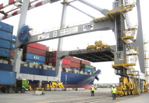 Asian Terminals Inc executive vice president Andrew Hoad reckons there are about 300,000 to 400,000 twenty-equivalent units that could potentially go through the Batangas port. Photo courtesy of  ATI.