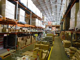 warehouse interior