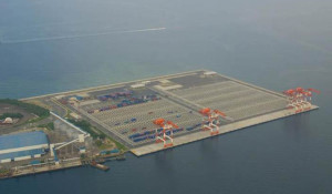 Subic's New Container Terminal 1 operated by Subic Bay International Terminal Corp. Photo courtesy of Subic Bay Metropolitan Authority.