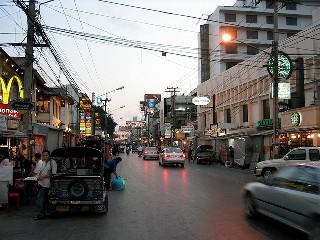 Thailand street scene