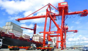 The operator of Davao International Container Terminal Photo courtesy of DICT.
