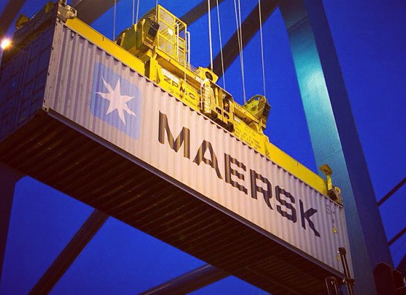 Maersk to compete with UPS, FedEx as an integrated container