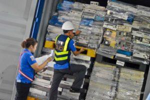 Electronic waste shipment