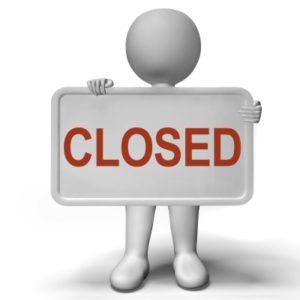 Pier 13 closed